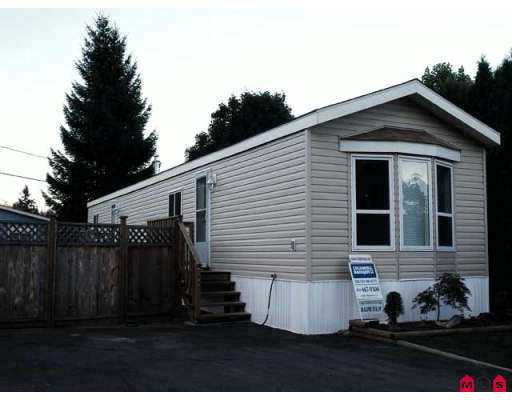 """Main Photo: 115 10221 WILSON ST in Mission: Stave Falls Manufactured Home for sale in """"Triple Creek Estates"""" : MLS®# F2615376"""