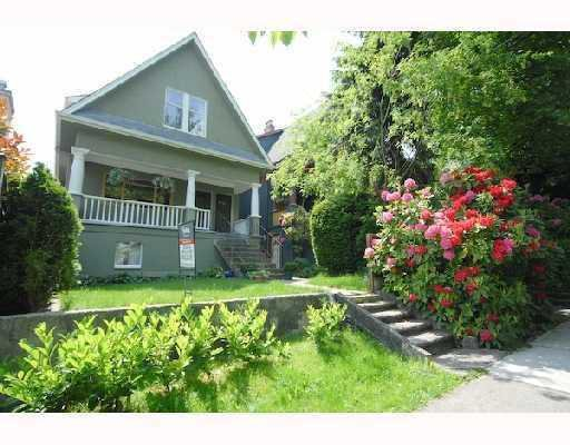 Main Photo: 1354 E 15TH Avenue in Vancouver: Grandview VE House for sale (Vancouver East)  : MLS®# V725842