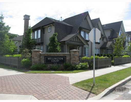 "Main Photo: 19 7233 HEATHER Street in Richmond: McLennan North Townhouse for sale in ""WELLINGTON COURT"" : MLS®# V726561"