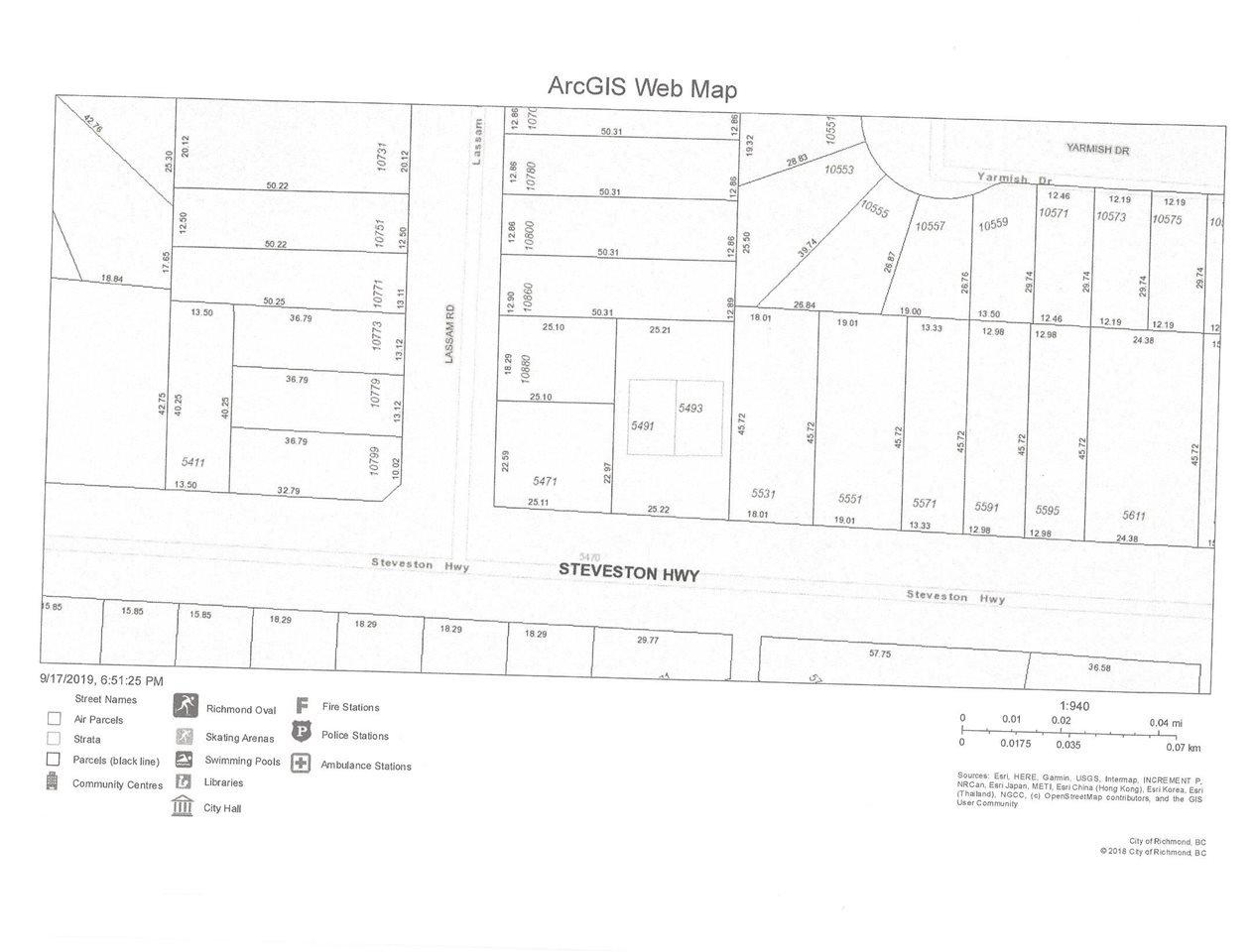 Main Photo: 5491 STEVESTON Highway in Richmond: Steveston North House 1/2 Duplex for sale : MLS®# R2417147