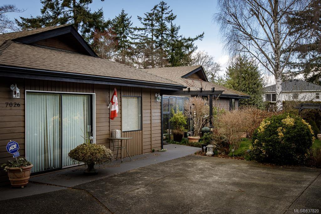 Main Photo: 7026 Bryrwood Crt in Central Saanich: CS Brentwood Bay Single Family Detached for sale : MLS®# 837820