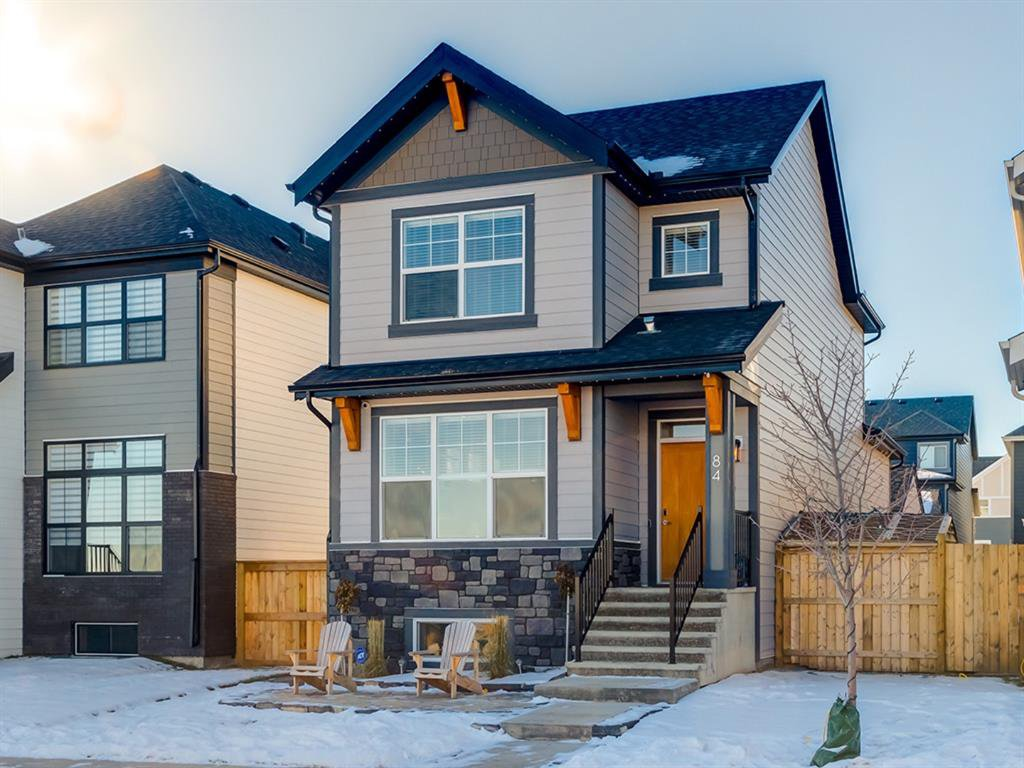Main Photo: 84 Mahogany Crescent SE in Calgary: Mahogany Detached for sale : MLS®# A1051998