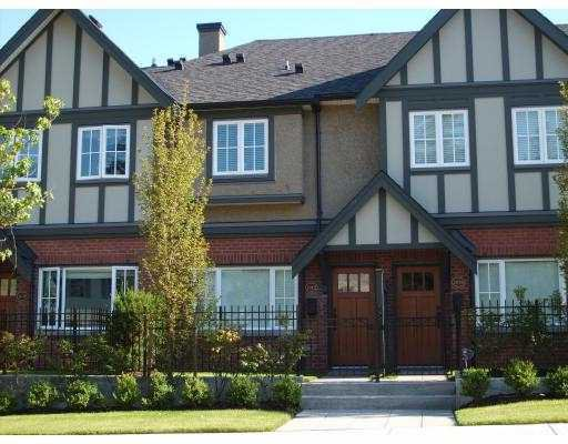 Main Photo: 1012 W 45TH Avenue in Vancouver: South Granville Townhouse for sale (Vancouver West)  : MLS®# V810486