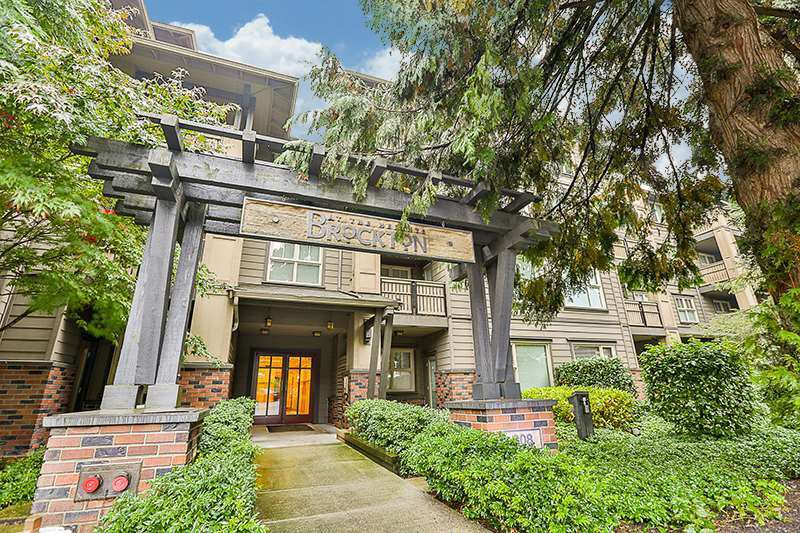 "Main Photo: 216 808 SANGSTER Place in New Westminster: The Heights NW Condo for sale in ""The Brockton"" : MLS®# R2411605"