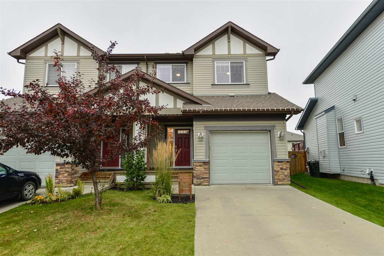 Main Photo: 10 HARTWICK Mews: Spruce Grove House Half Duplex for sale : MLS®# E4214422
