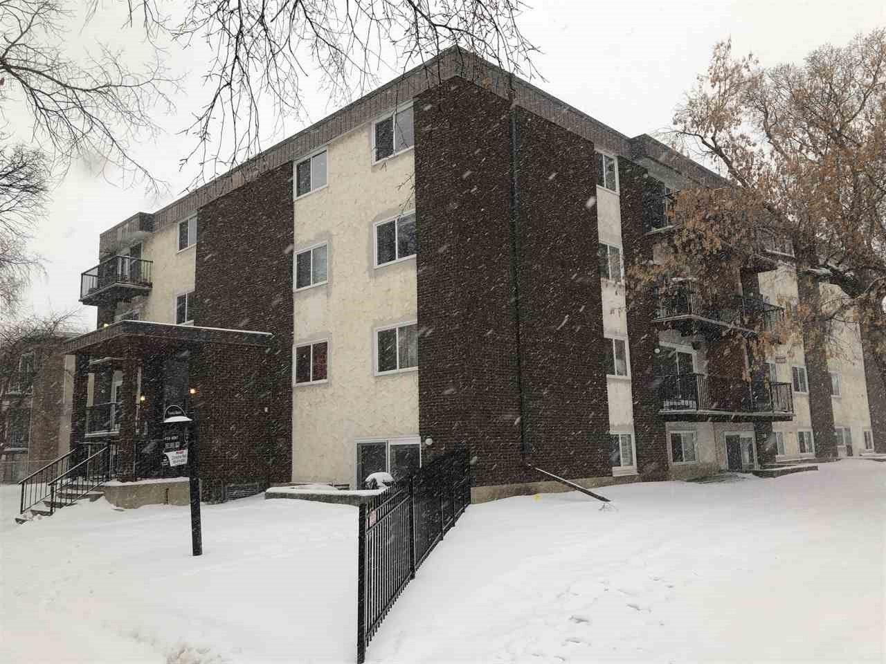 Main Photo: 306 10740 105 Street in Edmonton: Zone 08 Condo for sale : MLS®# E4221499