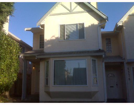 Main Photo: 1 8376 FRENCH Street in Vancouver: Marpole House 1/2 Duplex for sale (Vancouver West)  : MLS®# V743692