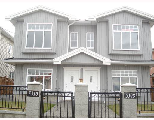 Main Photo: 5308 NORFOLK Street in Burnaby: Central BN House 1/2 Duplex for sale (Burnaby North)  : MLS®# V749299