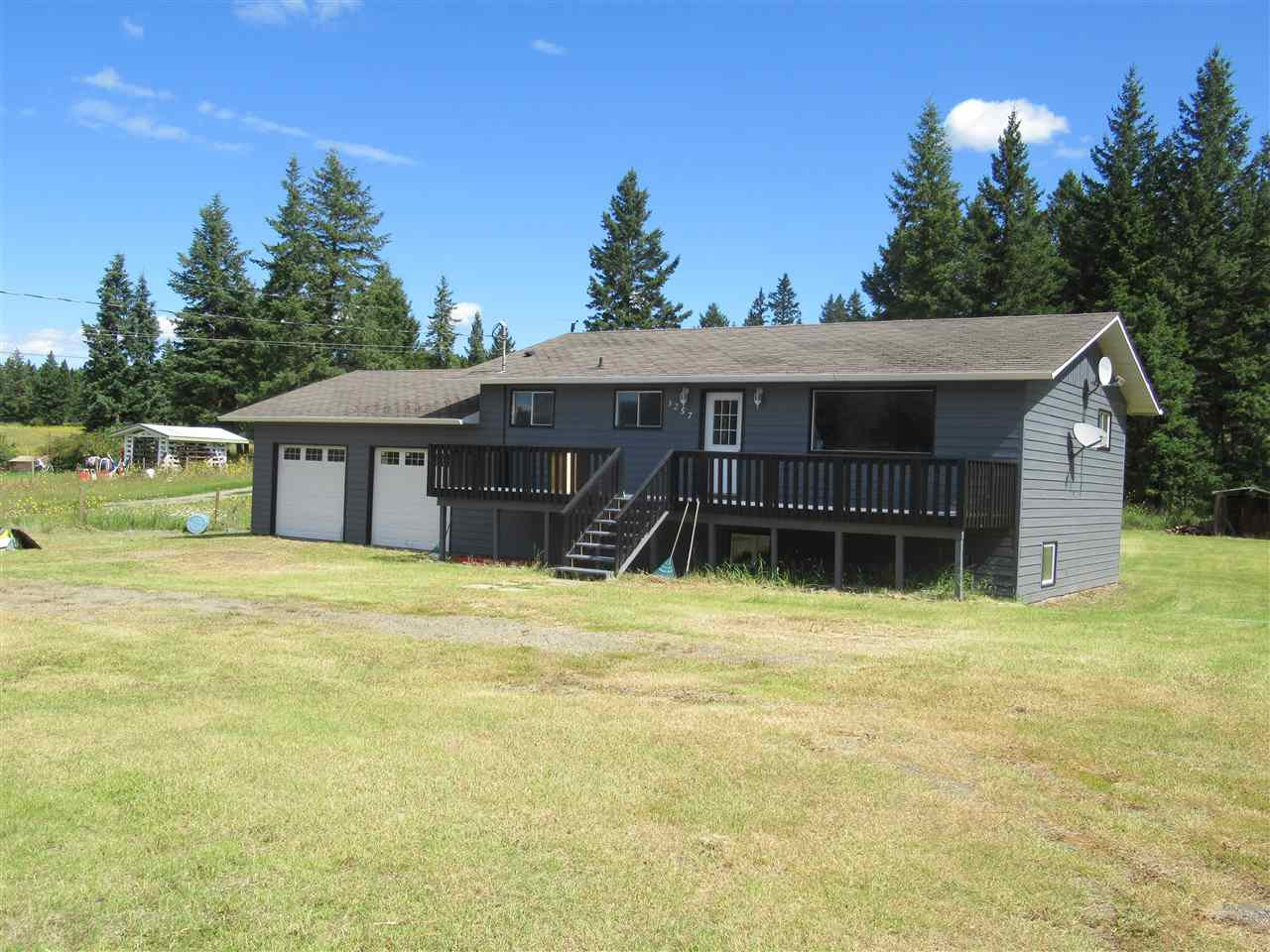 Main Photo: 3257 HINSCHE Road in Williams Lake: Williams Lake - Rural East House for sale (Williams Lake (Zone 27))  : MLS®# R2477340