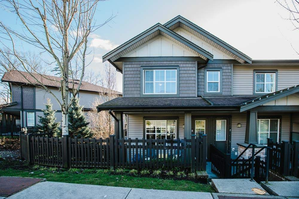 Main Photo: 8 11176 GILKER HILL Road in Maple Ridge: Cottonwood MR Townhouse for sale : MLS®# R2524679