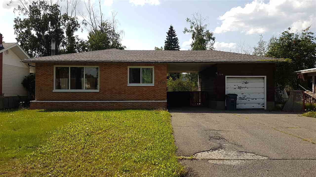 Main Photo: 1339 MANSON Crescent in Prince George: Spruceland House for sale (PG City West (Zone 71))  : MLS®# R2395923