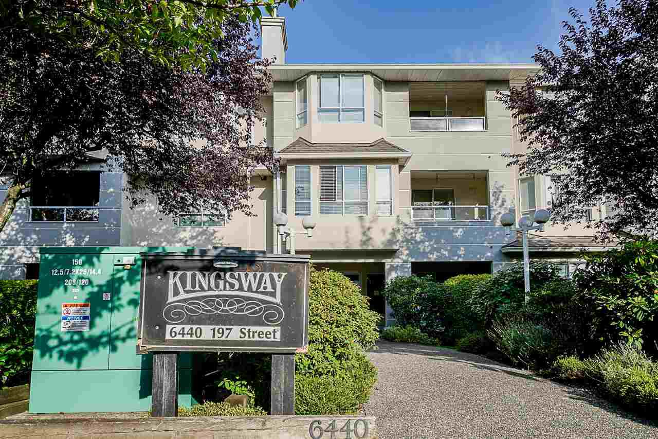 """Main Photo: 207 6440 197 Street in Langley: Willoughby Heights Condo for sale in """"KINGSWAY"""" : MLS®# R2404774"""