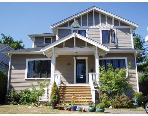 Main Photo: 3391 W 40TH Avenue in Vancouver: Dunbar House for sale (Vancouver West)  : MLS®# V723510