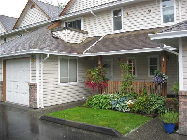 "Photo 1: Photos: 3 20699 120B Avenue in Maple Ridge: Northwest Maple Ridge Townhouse for sale in ""GATE WAY"" : MLS®# V835963"