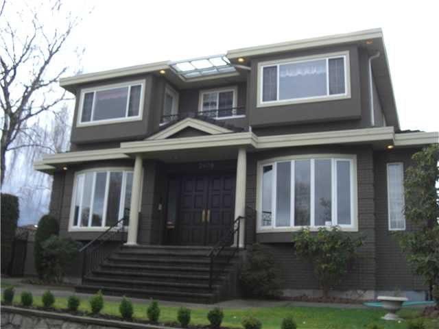 Main Photo: 2408 W 18TH Avenue in Vancouver: Arbutus House for sale (Vancouver West)  : MLS®# V867694