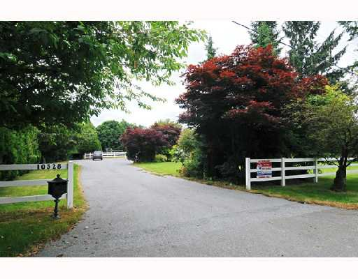 Main Photo: 10328 276TH Street in Maple_Ridge: Whonnock House for sale (Maple Ridge)  : MLS®# V719528