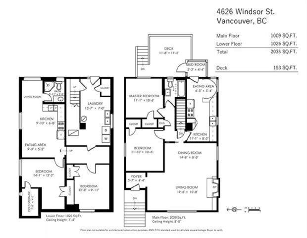 Photo 20: Photos: 4626 WINDSOR ST in VANCOUVER: Fraser VE House for sale (Vancouver East)  : MLS®# R2446066