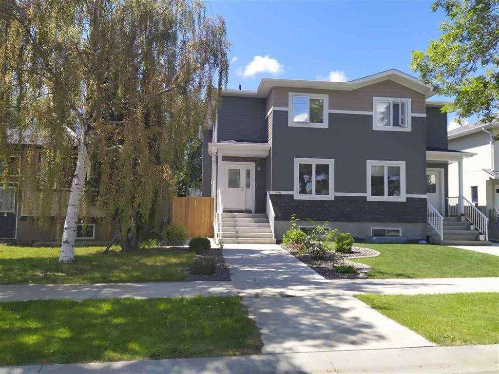 Main Photo: 10406 155 Street in Edmonton: Zone 21 House Half Duplex for sale : MLS®# E4211707