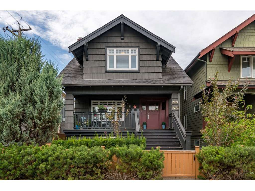 Main Photo: 2421 DUNBAR Street in Vancouver: Kitsilano House for sale (Vancouver West)  : MLS®# R2525359