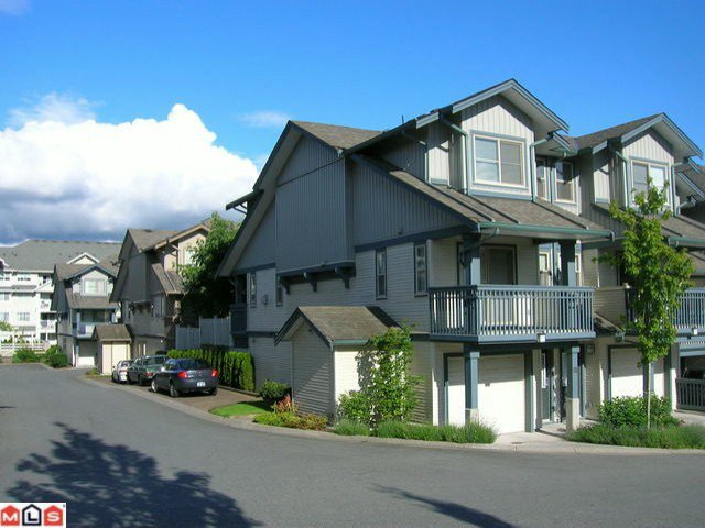 "Main Photo: 83 19250 65TH Avenue in Surrey: Clayton Townhouse for sale in ""SUNBERRY COURT"" (Cloverdale)  : MLS®# F1008598"