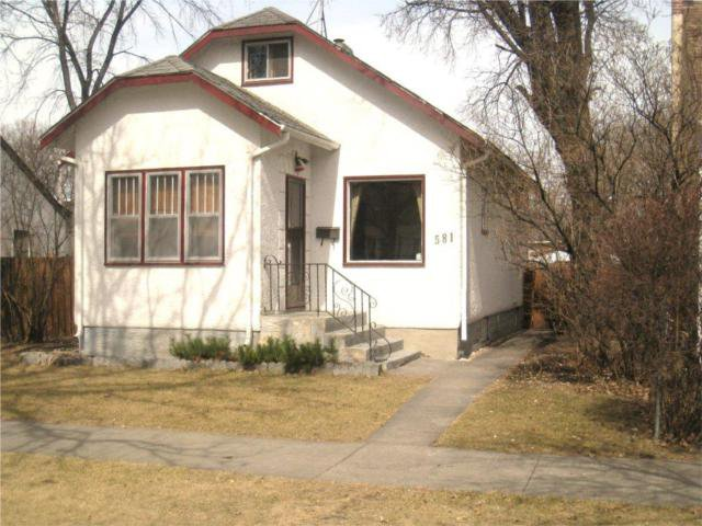 Main Photo: 581 Tremblay Street in WINNIPEG: St Boniface Residential for sale (South East Winnipeg)  : MLS®# 1005743