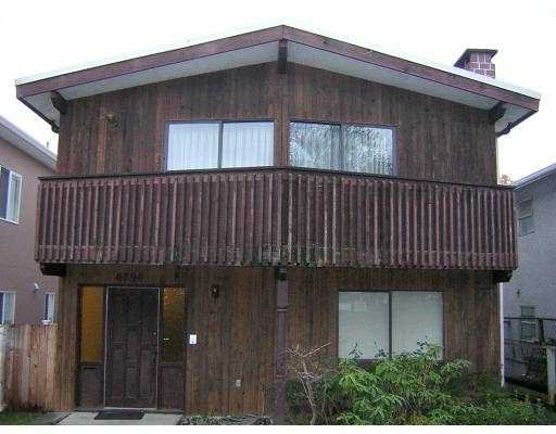 """Main Photo: 4794 CULLODEN ST in Vancouver: Knight House for sale in """"KNIGHT"""" (Vancouver East)  : MLS®# V569647"""