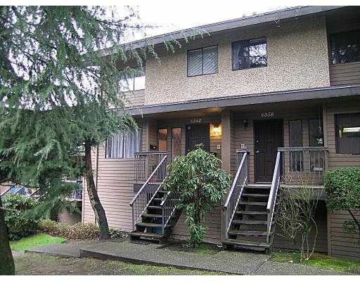Main Photo: 6862 BEECHCLIFFE Drive in Burnaby: Montecito Townhouse for sale (Burnaby North)  : MLS®# V726465