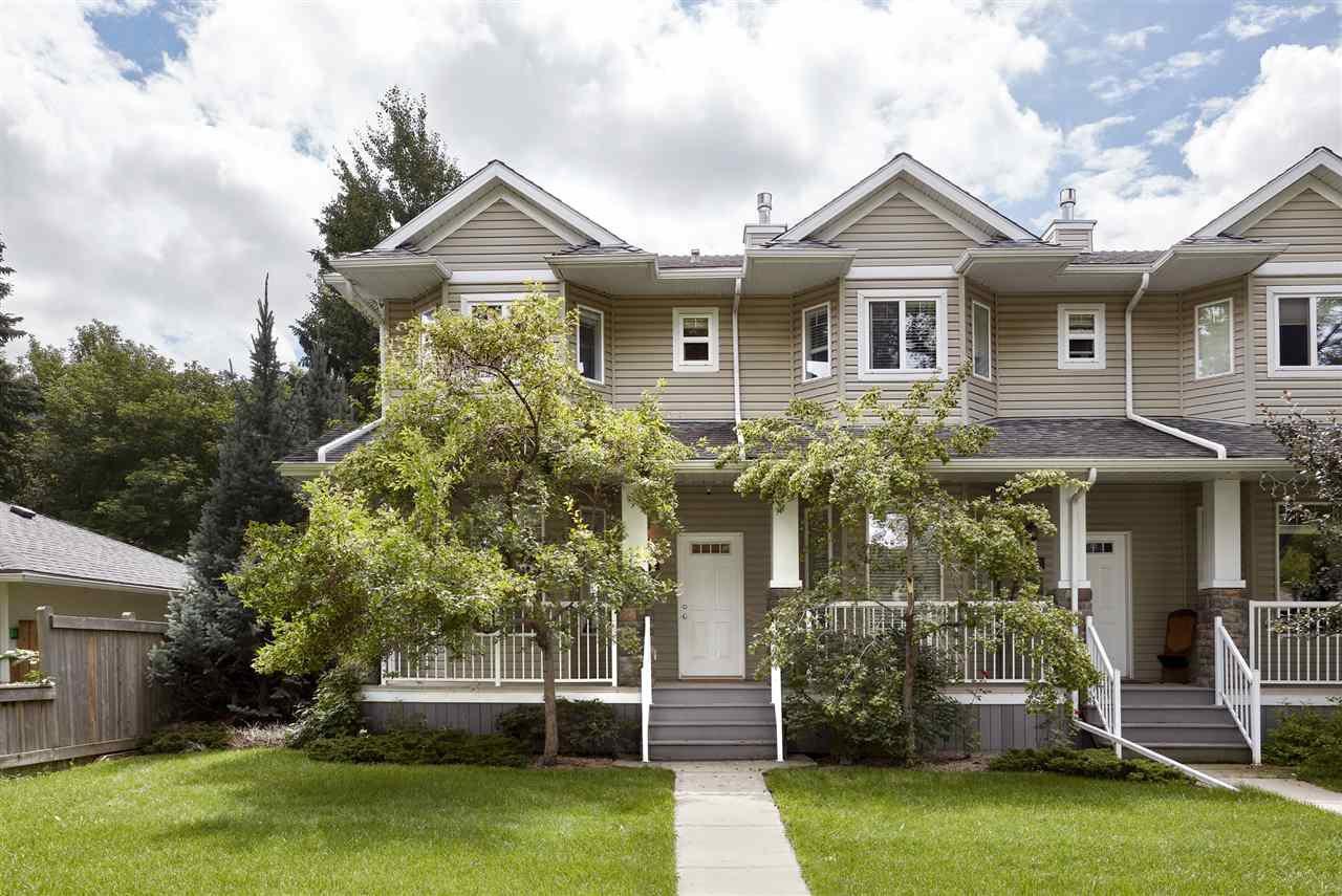 Main Photo: 8733 83 Avenue in Edmonton: Zone 18 Townhouse for sale : MLS®# E4208501