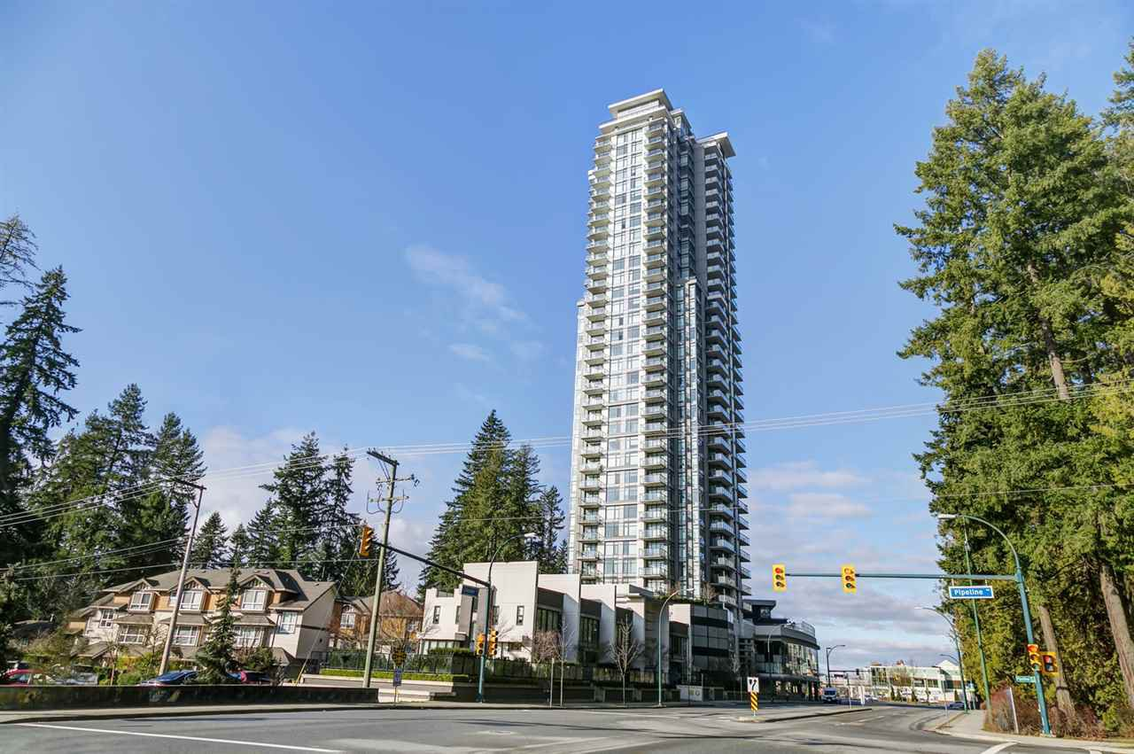 "Main Photo: 1605 3080 LINCOLN Avenue in Coquitlam: North Coquitlam Condo for sale in ""1123 Westwood by Onni"" : MLS®# R2517542"