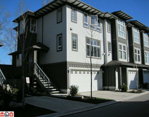"""Main Photo: 135 18777 68A Avenue in Surrey: Clayton Townhouse for sale in """"COMPASS"""" (Cloverdale)  : MLS®# F1004663"""