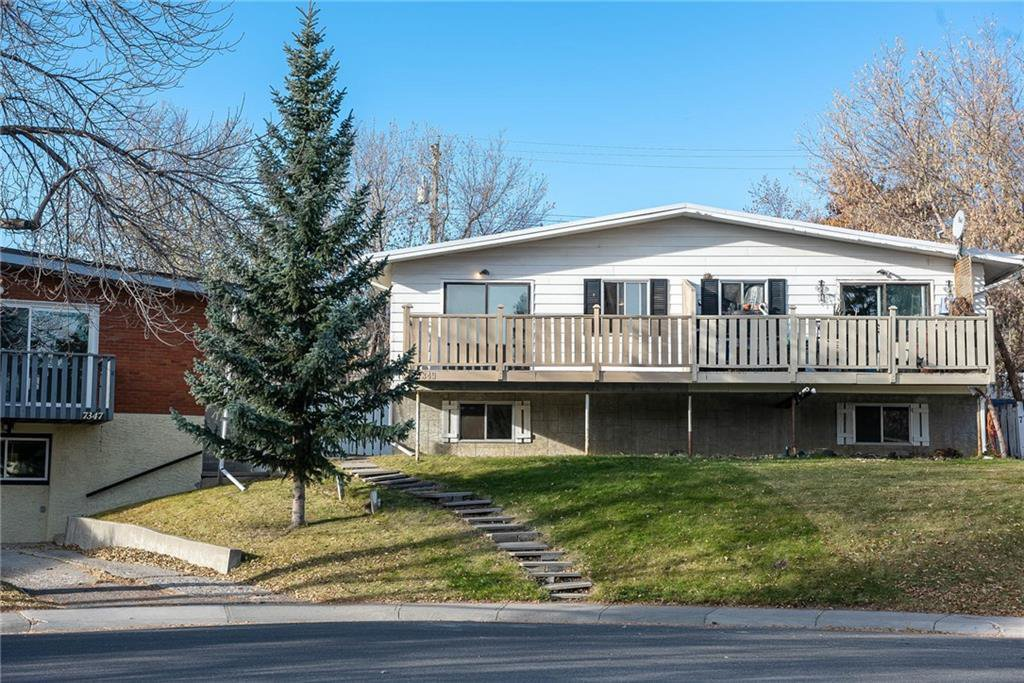 Main Photo: 7349 HUNTERTOWN Crescent NW in Calgary: Huntington Hills Semi Detached for sale : MLS®# C4299784