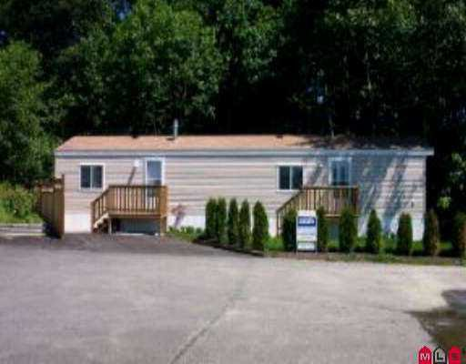 "Photo 1: Photos: 31 10221 WILSON ST in Mission: Stave Falls Manufactured Home for sale in ""Triple Creek Estates"" : MLS®# F2511947"