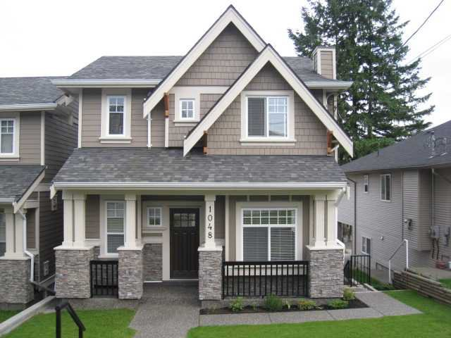 Main Photo: 1048 WALLS Avenue in Coquitlam: Maillardville 1/2 Duplex for sale : MLS®# V839948