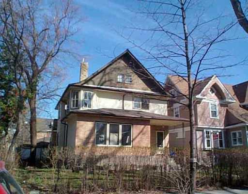 Main Photo: 885 DORCHESTER Avenue in WINNIPEG: Fort Rouge / Crescentwood / Riverview Duplex for sale (South Winnipeg)  : MLS®# 2504949