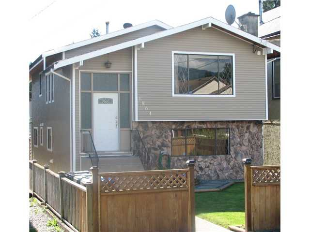 Main Photo: 1864 FRASER Avenue in Port Coquitlam: Glenwood PQ House for sale : MLS®# V852030