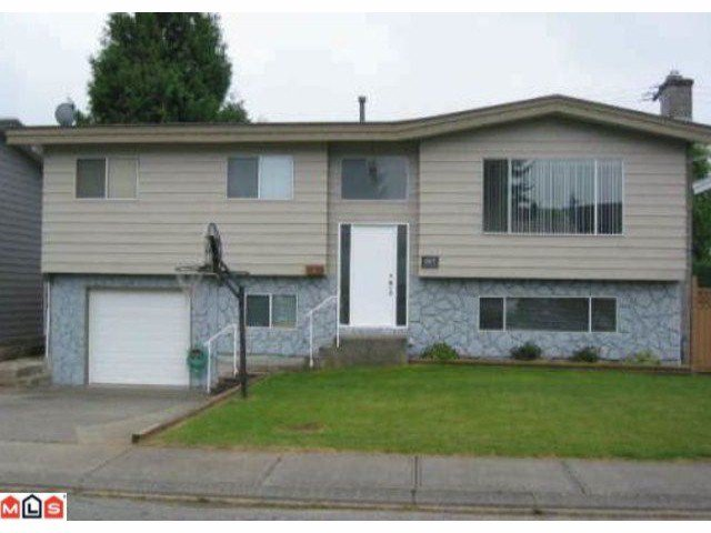 Main Photo: 32264 ATWATER in Abbotsford: Abbotsford West House for sale : MLS®# F1026897