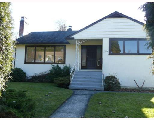 Main Photo: 1984 W 16TH Avenue in Vancouver: Shaughnessy House for sale (Vancouver West)  : MLS®# V754741