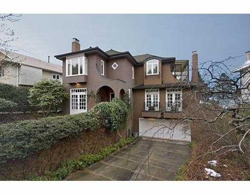 Main Photo: 4677 SIMPSON Avenue in Vancouver: Point Grey House for sale (Vancouver West)  : MLS®# V755336