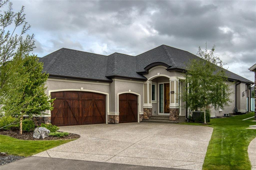 Main Photo: 214 Spring water Close: Heritage Pointe Semi Detached for sale : MLS®# C4294298