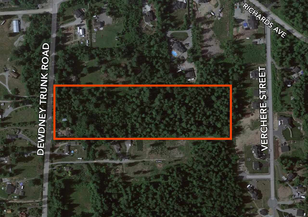 Main Photo: 9756 DEWDNEY TRUNK Road in Mission: Mission BC Land for sale : MLS®# R2471145