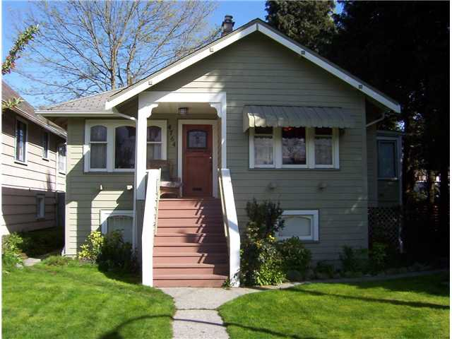 Main Photo: 4764 QUEBEC Street in Vancouver: Main House for sale (Vancouver East)  : MLS®# V821389
