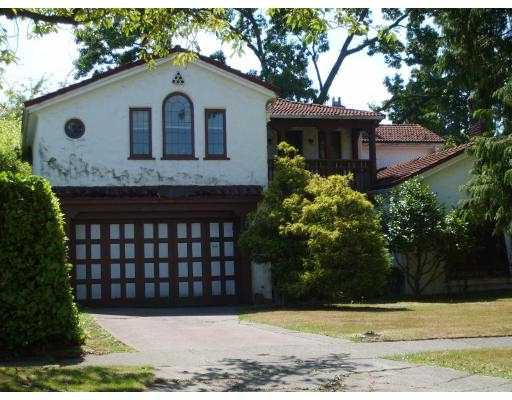 Main Photo: 1392 W 47TH Avenue in Vancouver: South Granville House for sale (Vancouver West)  : MLS®# V781200