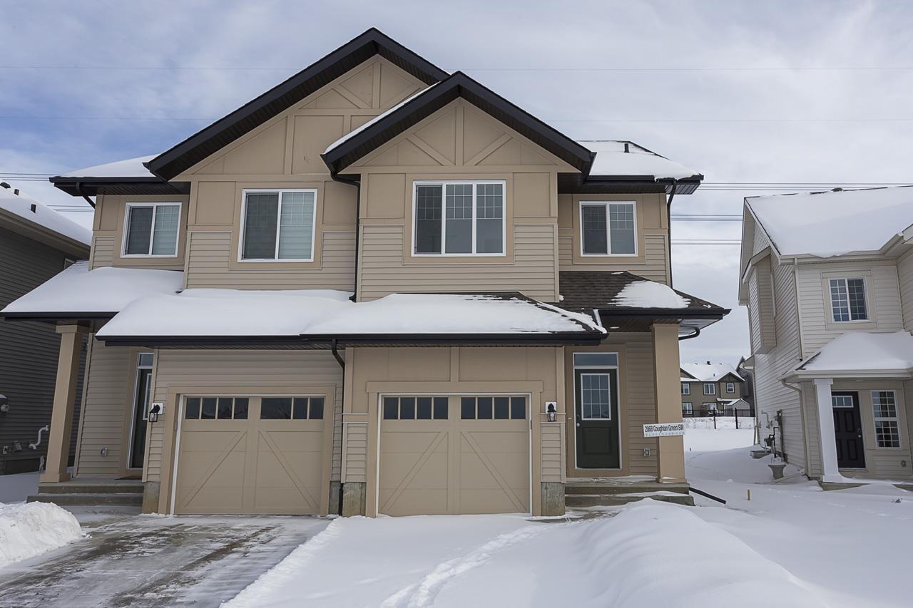Main Photo: 2868 Coughlan Green in Edmonton: Zone 55 House Half Duplex for sale : MLS®# E4185779