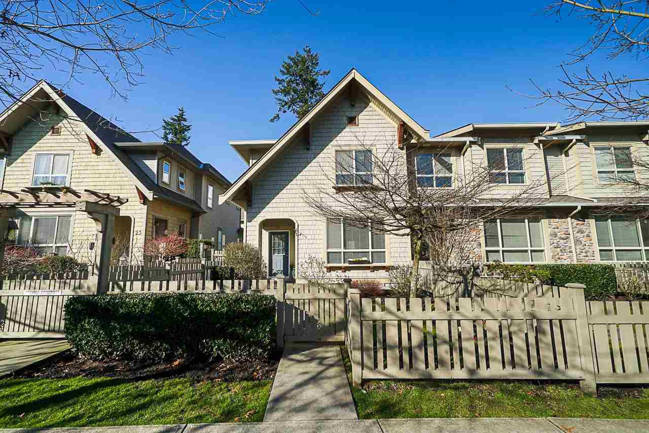 "Main Photo: 26 2738 158 Street in Surrey: Grandview Surrey Townhouse for sale in ""CATHEDRAL GROVE"" (South Surrey White Rock)  : MLS®# R2442123"