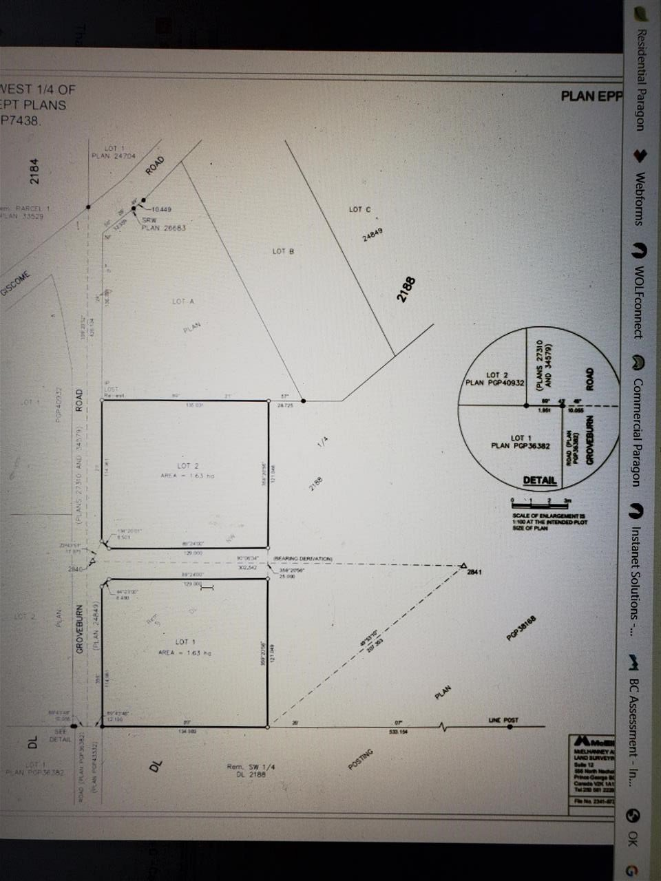 """Main Photo: LOT 2 GROVEBURN Road in Prince George: Tabor Lake Land for sale in """"TABOR LAKE"""" (PG Rural East (Zone 80))  : MLS®# R2528550"""