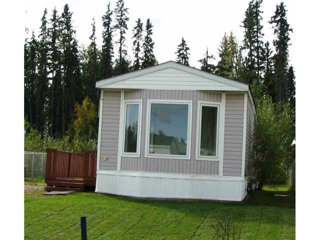 "Main Photo: 18 5701 AIRPORT Drive in Fort Nelson: Fort Nelson -Town Manufactured Home for sale in ""SOUTHRIDGE"" (Fort Nelson (Zone 64))  : MLS®# N198426"