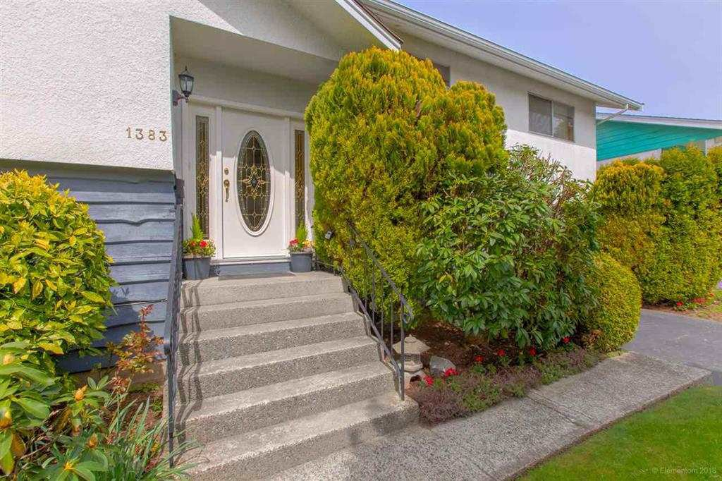 "Main Photo: 1383 GROVER Avenue in Coquitlam: Central Coquitlam House for sale in ""CENTRAL COQUITLAM"" : MLS®# R2392171"