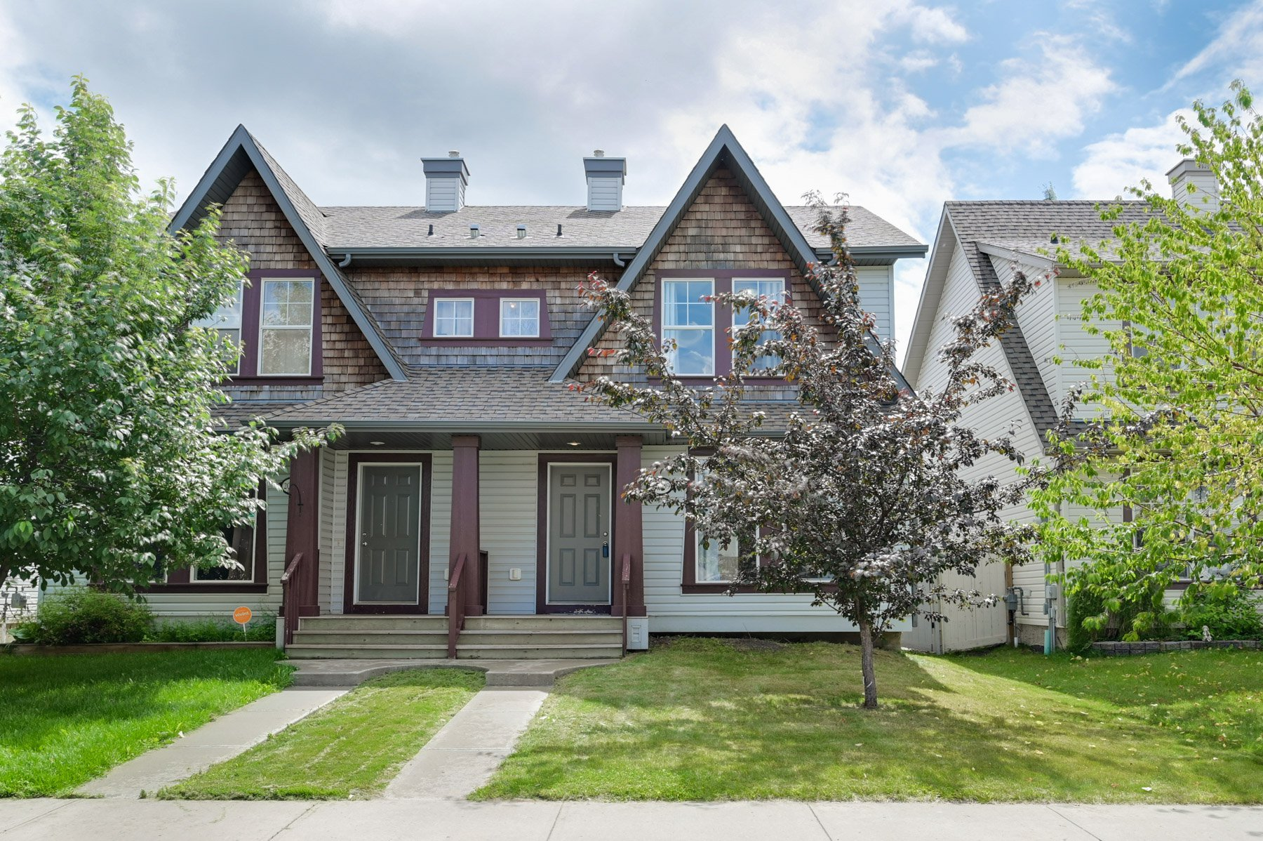 Main Photo: 20239 - 56 Avenue in Edmonton: Hamptons House Half Duplex for sale : MLS®# E4165567
