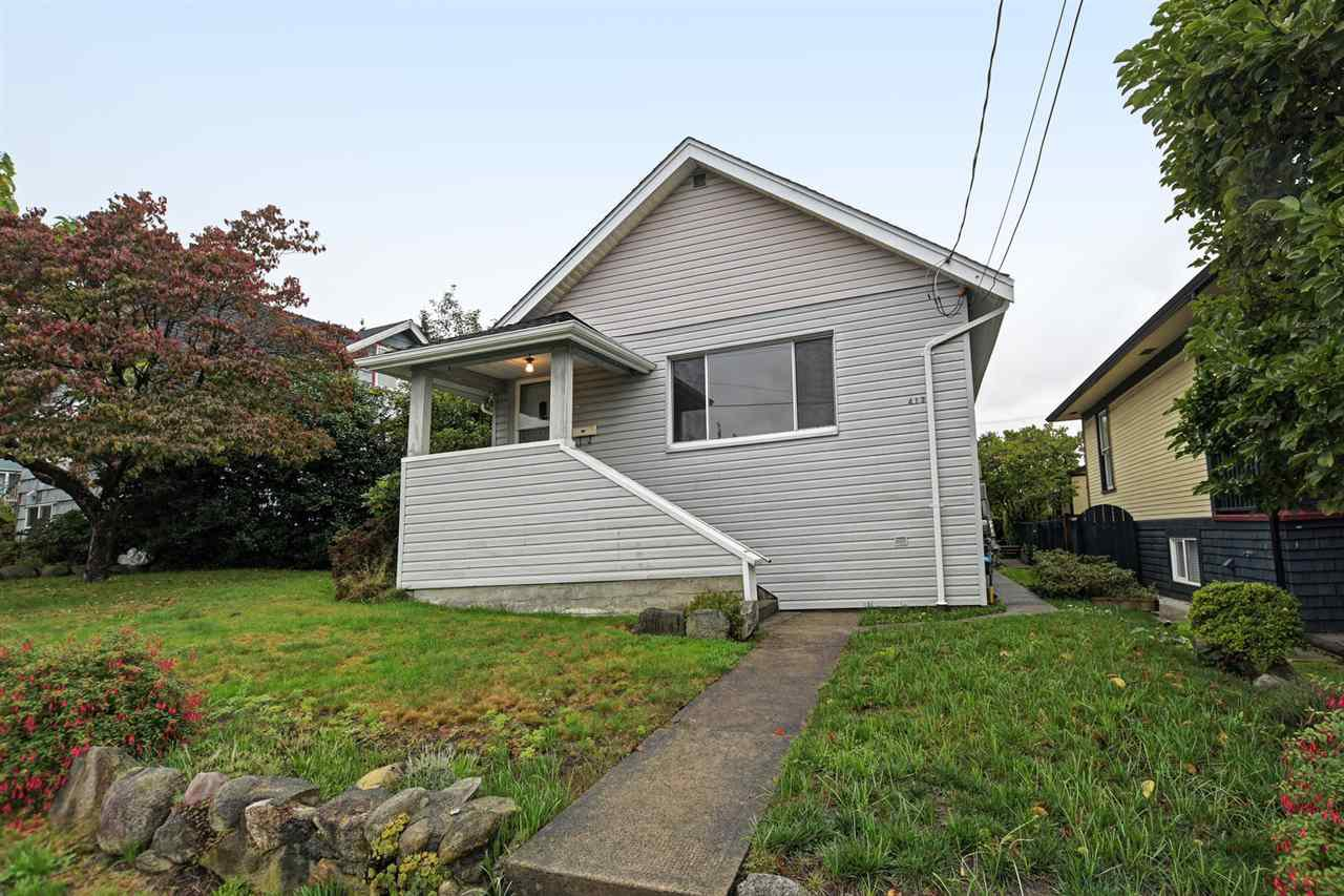 Main Photo: 413 SCHOOL Street in New Westminster: The Heights NW House for sale : MLS®# R2410340