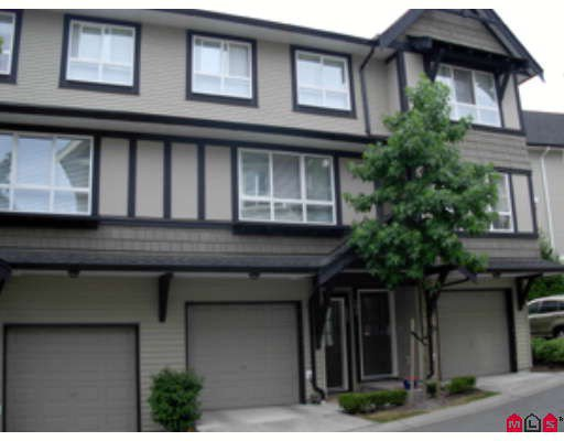 "Main Photo: 107 6747 203RD Street in Langley: Willoughby Heights Townhouse for sale in ""Sagebrook"" : MLS®# F2822949"